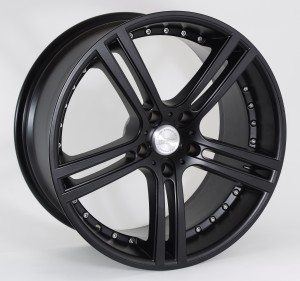 WHEEL - Le mans Matt black 3qtr